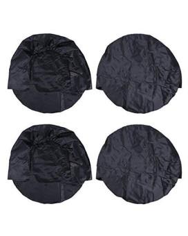"""WINOMO 4pcs RV Wheel Cover Dustproof Waterproof Tire Covers for SUV Truck Camper Trailer Rv Fits 30"""" to 32"""""""