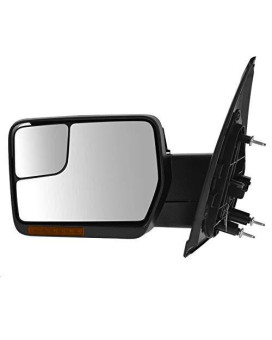 Trail Ridge Tow Mirror Power Folding Heated Puddle Signal Chrome Left For Ford