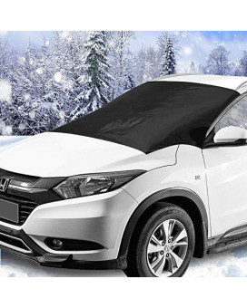 "Windshield Snow &Amp; Ice Cover, Waterproof, Sun Protection For All Cars, Trucks, Suvs, Mpvs, With Magnetic (47"" × 82"")"