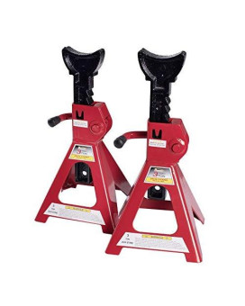 Baishite 3 Ton Capacity Steel Jack Stands 1 Pair, Lift Height 11-17 Inches