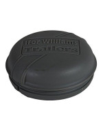 Grey Plastic Hub Cap Grease Cap Dust Bearing Cap 76Mm For Ifor Williams Trailers
