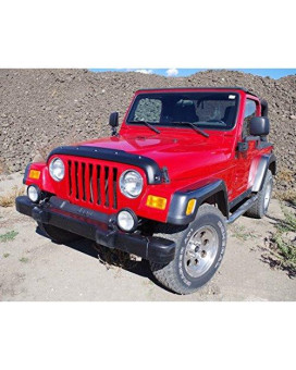 Tough Guard Hood Smooth Protector For Jeep Wrangler Tj 1996-2006