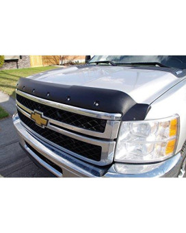 Auto Accessories Dealer Tough Guard Hood Protector Smooth Texture For Chevrolet Silverado Hd 2500/3500 2008-14