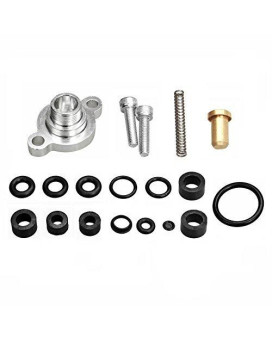 yjracing Fuel Relief Pressure Spring & Seal Kit Fit For 99-03 Ford 7.3 7.3L Powerstroke Diesel