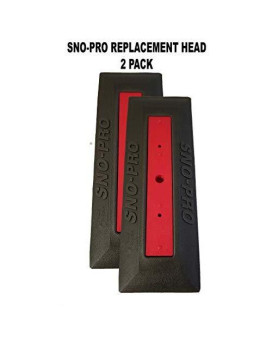 Angel-Guard Sno Brum Sno Pro Replacement Head 2 Pack
