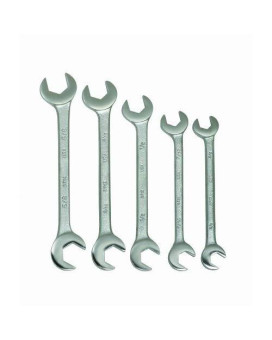 Williams 3780 5-Piece Double Open End Wrench Set
