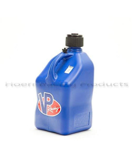 VP 5 Gallon Square Blue Racing Utility Jug