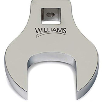Williams 10833 1/2-Inch Open End Drive Crowfoot Wrench, 2-3/8-Inch