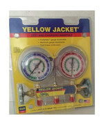 "Yellow Jacket 41212 Manifold Only with 2-1/2"" Gauge, psi, R-12/22/502"