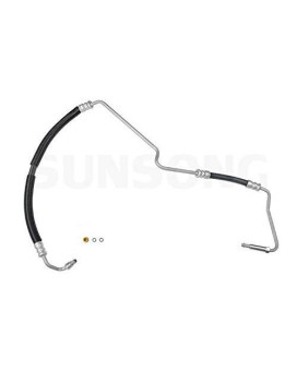 Sunsong 3401071 Power Steering Pressure Hose Assembly (Cadillac, Oldsmobile)