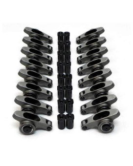 Assault Racing Products Sra45417716 Chevy Big Block Polylock Stainless Steel Rocker Arms 1.7 Ratio 7/16 Stud Bbc
