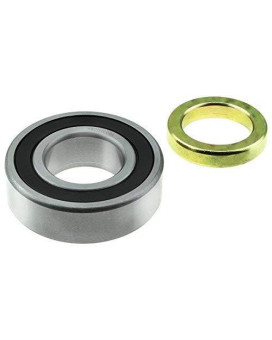 Wjb Wbrw207Ccra - Rear Wheel Bearing With Lock Collar - Cross Reference: National Rw-207-Ccra/Timken Rw207Ccra/ Skf Rw207-Ccra, 1 Pack