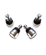 4 American Star 4130 Chromoly Upper Or Lower Ball Joints - Polaris Rzr Xp 1000 All Models 2014-2018