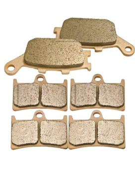 YAMAHA YZF R1 5VY LE Sintered metal Front Rear Brake Pads 2004 2005 2006