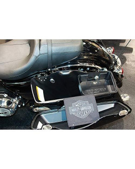 Current H-D ABS Hard Bags Top Shelf Custom Injection Molded ABS Saddlebag Organizer Tray RT 2014