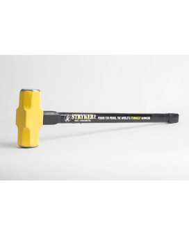 """6 lb. Head with 30"""" Steel Reinforced Rubber Handle"""