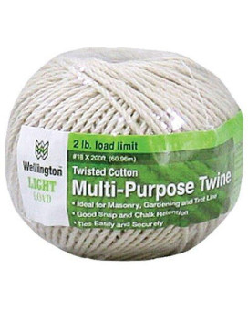 Wellington Puritan 10305 Twisted Cotton Cable Cord