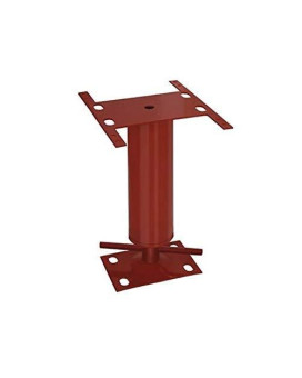"""Akron Products J Mobile Mobile Home Utility Jack, 12-16"""", 12"""" Length, 12"""" Height, Red"""