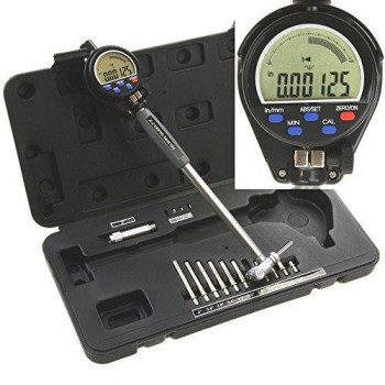 """Anytime Tools 2"""" - 6"""" Electronic Digital Precision Engine Cylinder Hole Bore Gauge Resolution 0.00005"""""""