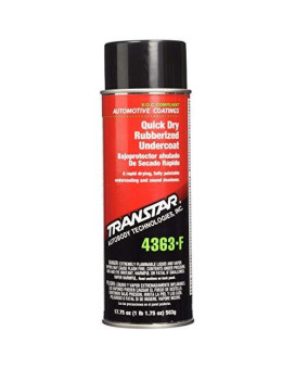TRANSTAR (4363-F) Quick Dry Rubberized Undercoating - 17.75 oz. Aerosol