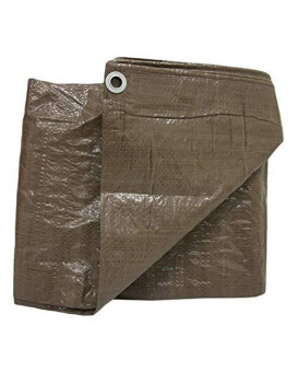 Weathermaster BT0608 Brown Poly Tarpaulin