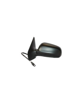 Tyc 8610132 Volkswagen Jetta Driver Side Power Heated Replacement Mirror, Smooth Black