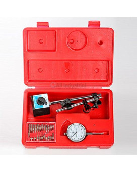 All Industrial Tool Supply Tr72020 Dial Indicator (Magnetic Base  Point Precision Inspection Set)