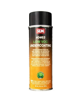 Sem 40463 Low Voc Undercoating Aerosol - 19.2 Oz.