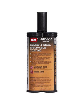 Sem 40977 Sound And Seal Sprayable Coating - 7 Oz.