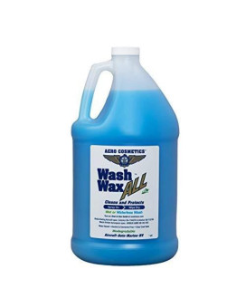 Aero Cosmetics Wet Or Waterless Car Wash Wax 128 Oz. Aircraft Quality Wash Wax For Your Car Rv &Amp; Boat. Guaranteed Best Waterless Wash On The Market