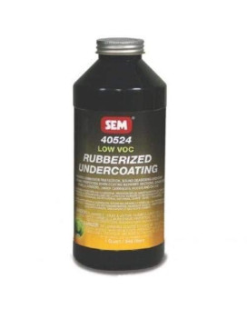 Sem 40524 Low Voc Rubberized Undercoating Aerosol - 1 Quart