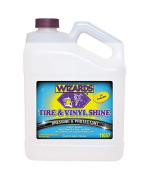 Wizards Tire and Wheel (Vinyl Shine, Gallon)
