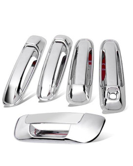 New For 03-08 2003 2004 2005 2006 2007 2008 Dodge Ram 1500 3500 Chrome Door Handle Cover + Tailgate Cover Trim Warranty Hot