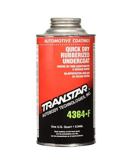 Transtar 4364-F Quick Dry Rubberized Undercoating - 1 Quart