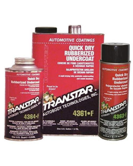Transtar (4361-F) Quick Dry Rubberized Undercoating - 1 Gallon