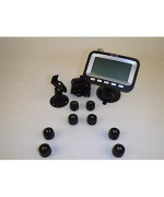 Bellacorp Tire Pressure Monitoring System Tpms (8) Sensors For Truck And Double Axle Trailer, Or Rv, Including Repeater