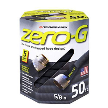 zero-G 4001-50 Lightweight, Ultra Flexible, Durable, Kink-Free Garden Hose, 5/8-Inch by 50-Feet