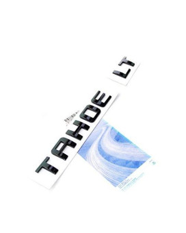 Yoaoo Black Tahoe Lt Nameplate Emblems Letter Badge 3D for Tahoe Glossy