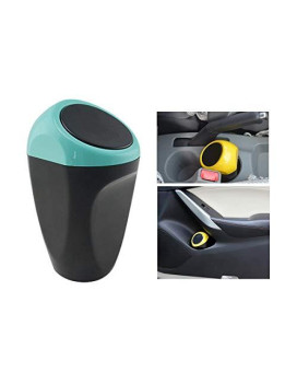 Yolu Car Garbage Trash Can, Mini Auto Garbage Can Car Trash Can Common Use For Autotive Car, Home, Office, Kitchen, Living Room, Bedroom, Study, Dinning Room, Bathroom (Blue)