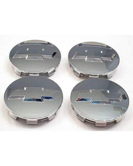 "Autocaps Gosweet CV075 4X Brand NEW Four Pieces Chrome Wheel Center Hub Cap for Chevy 2005-2013 Chevrolet 3.25"" Chrome Center Caps For 18"" 20"" 22"" Wheels 9596403 US Fast Shipment"