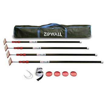 ZipWall Dust Barrier Toolkit, ZWTK