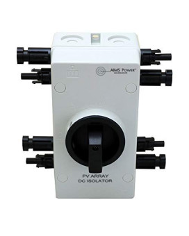 AIMS Power Solar PV DC Quick Disconnect Switch 1000V 64Amp