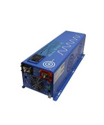 AIMS 4000 Watt Pure Sine Inverter Charger 120/240 Vac output charges with 120 Vac