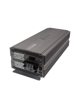AIMS 5000 Watt Pure Sine Power Inverter with GFCI outlets