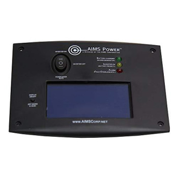 AIMS LCD Remote Switch for Pure Sine Inverter Chargers
