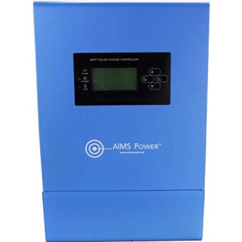 AIMS 80 AMP Solar Charge Controller 12/24/36/48 VDC MPPT