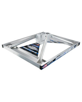 """Base ONLY (SHORT, aluminum) -no hardware, 4"""" lower than std height (GN ONLY)"""