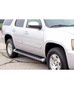 2005-2014 Chevy Tahoe 4-Door (Excl. Z71 & Hybrid) 2005-2014 Gmc Yukon 4-Door (Excl. Z71 & Hybrid) 2002-2006 Chevy Avalanche (W/Cladding) 6061 Aircraft Aluminum Polish Finishing Irunning Board