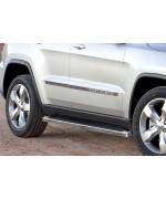 2011-2018 Jeep Grand Cherokee (Excl. Diesel Model) Will Not Fit With Oe Skirt Cladding 6061 Aircraft Aluminum Polish Finishing Irunning Board