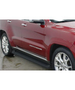 2011-2018 Jeep Grand Cherokee (Excl. Diesel Model) Will Not Fit With Oe Skirt Cladding 6061 Aircraft Aluminum Black Finishing Irunning Board
